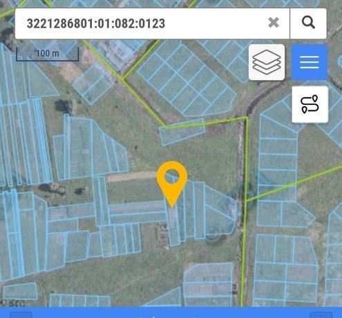 Земельна ділянка в с. Пухівка