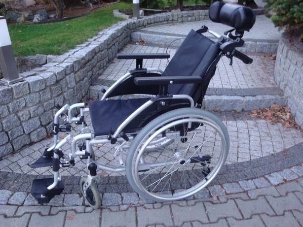 Wózek inwalidzk VITA CARE lekki -multipozycujny.