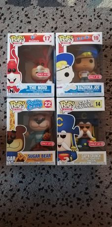 Zestaw 4 Figurek Funko Pop Ad Icons Capn Crunch The Noid Sugar Bear