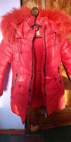 Зимняя куртка на рост 122см