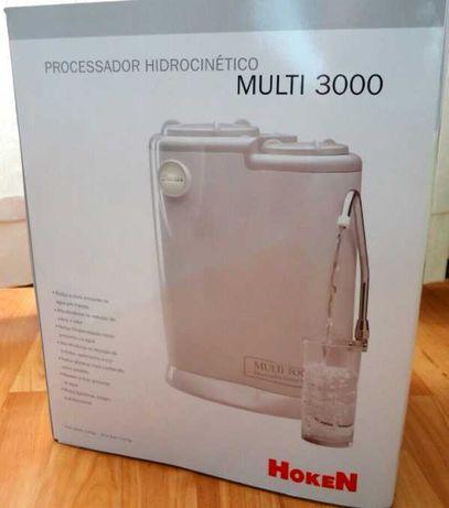 Processador Hidrocinético (Filtragem de água da rede)