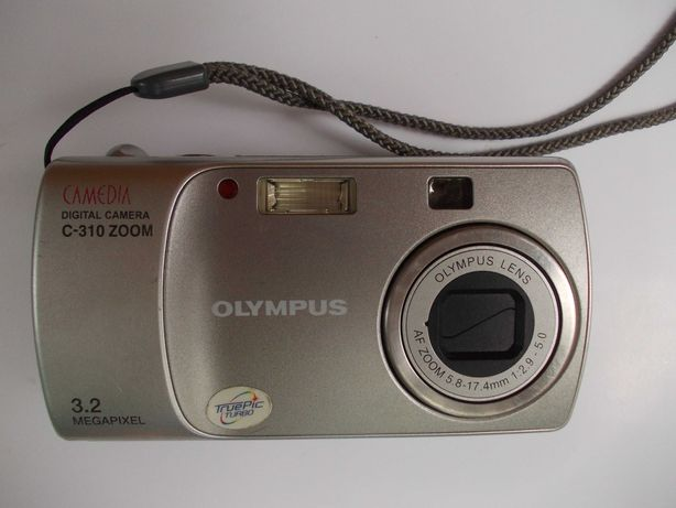 Фотоаппарат цифровой Olympus Camedia C-310 Zoom + карта памяти 128 МВ