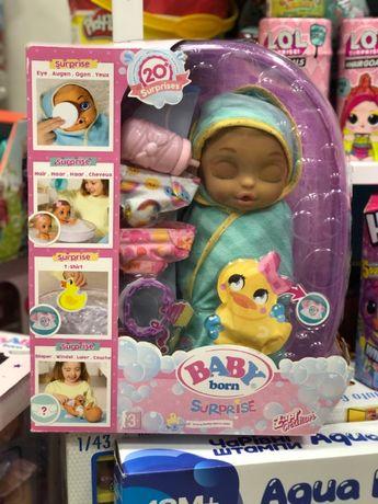 Кукла BABY BORN - Очаровательная китти беби борн с ванночкой оригинал