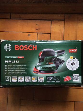 Шлифовальный станок Bosch PSM 18 LI