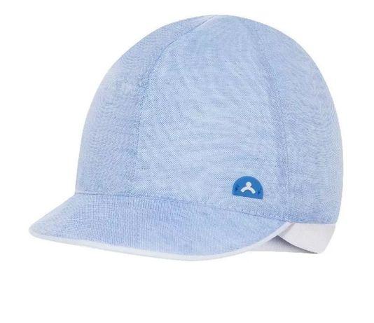 Czapka dziecięcą Broel Master Kid z daszkiem niebieska 43 cm