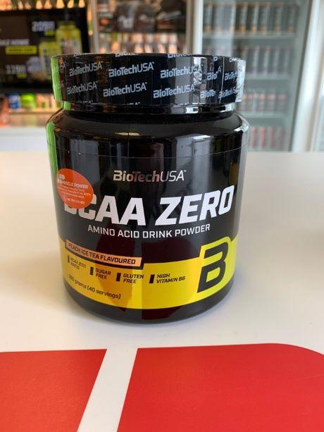 BioTech USA BCAA Zero - 360g aminokwasy regeneracja siła odżywki