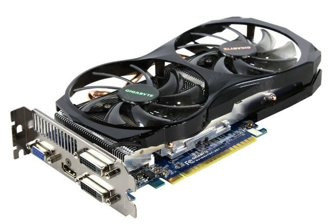 Видеокарта GIGABYTE GeForce GTX 650 Ti 2GB