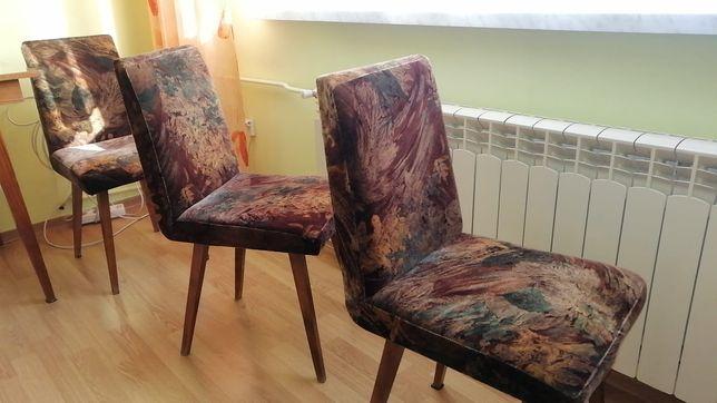 Krzesła patyczki oryginalne prl
