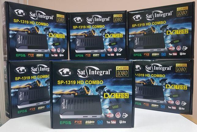 DVB-T2/S2 Комбинированный Mpeg4 ресивер Sat-Integral SP-1319 HD Combo