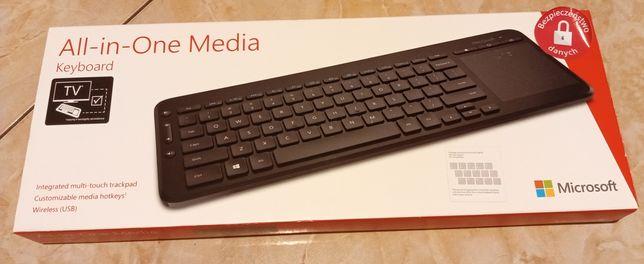 Klawiatura bezprzewodowa Microsoft All-in-One Keyboard