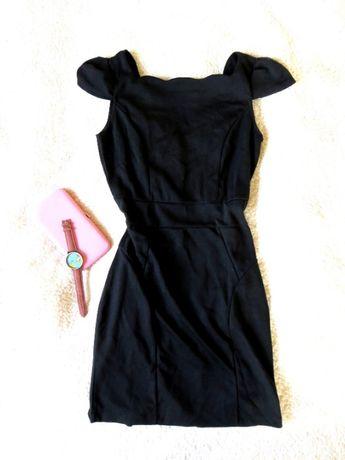 Sukienka mała czarna klasyczna piękna S H&M