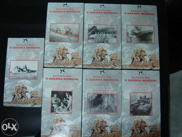 Coleção 7 cassetes VHS