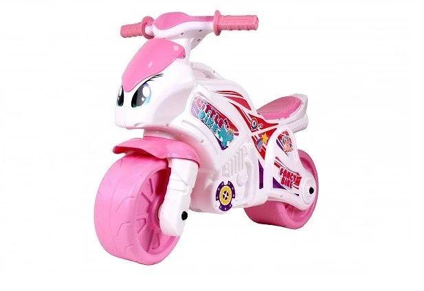 Мотоцикл Беговел для детей Каталка Толокар для девочки Байк Технок
