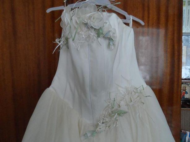 Свадебное платье бюджетное цвета айвори