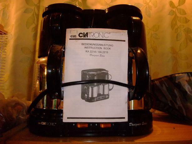 Podwójny ekspres do kawy Clatronic kpl