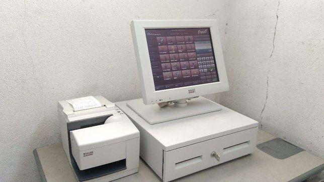 POS / Caixa registadora com software certificado + Garantia