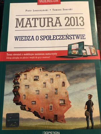 Wiedza o społeczeństwie Vademecum Operon