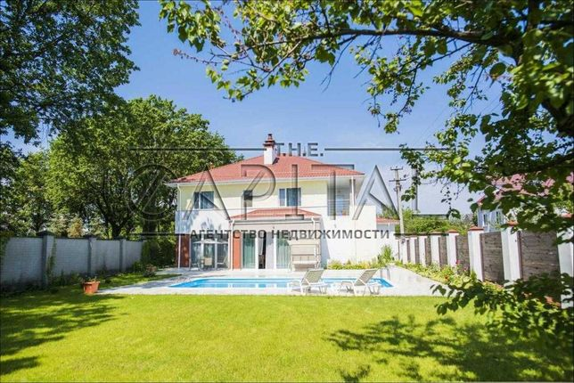 Аренда 2-этажного дома с бассейном на Осокорках, 5км от Киева