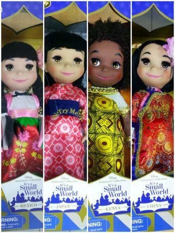 Куколки Disney animators