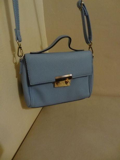 fajna niebieska torebka mała