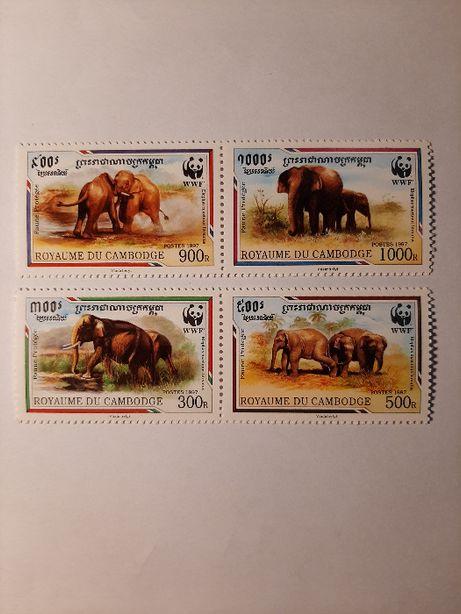 Znaczki pocztowe - zestaw 33