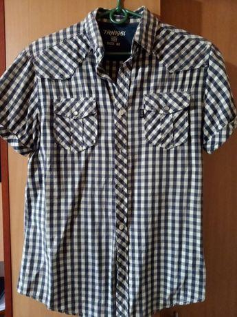 Рубашка мужская с коротким рукавом летняя
