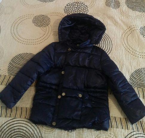 Зимняя детская курточка пуховик