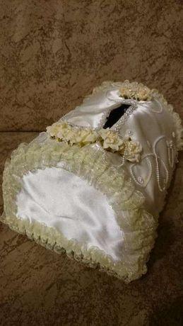 Свадебная корзинка для денег