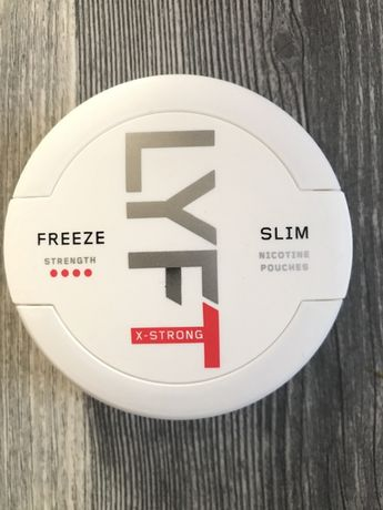 Pudelka po snus Lyft Freze X-Strong Slim #4