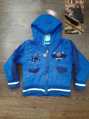Куртка для мальчика состояние отличное + подарок