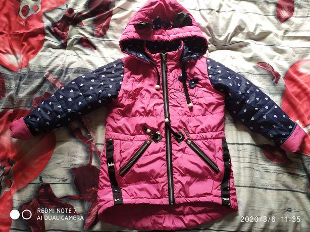 Куртка,парка 3-5 лет