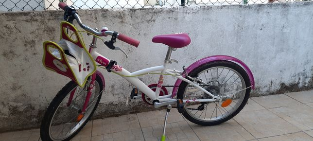 Bicicleta menina decathlon roda 20