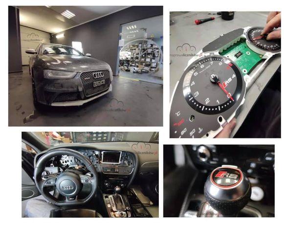 Naprawa liczników Audi - wysyłkowo i stacjonarnie