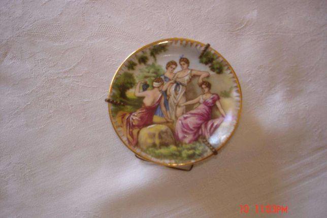 Prato Limoges pintado à mão