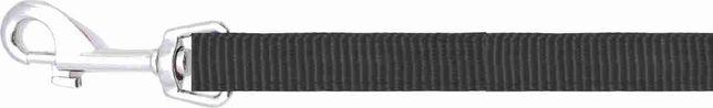Smycz gładka Happet ST11 czarna 1cm