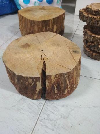 Bases madeira sobreiro entradas bolos decoração