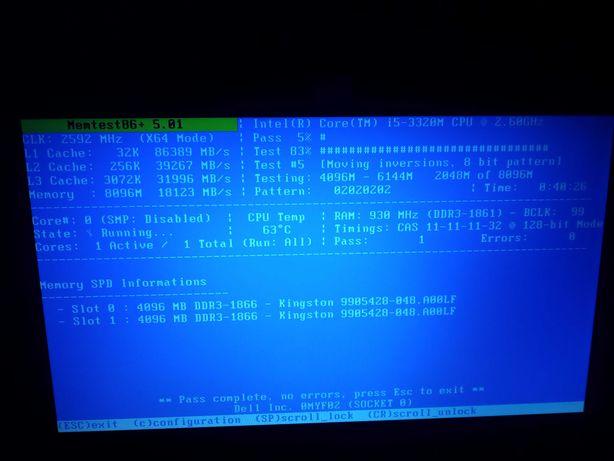 Dell latitude e5430 i5 8gb 250hdd