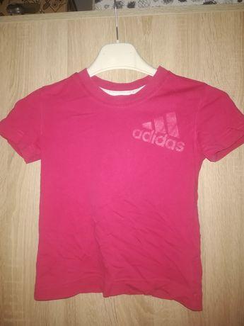 różowa bluzka adidas