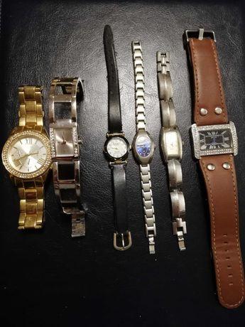 Sprzedam 6szt damskich sprawnych zegarków