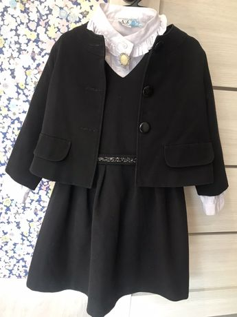 Школьная форма, сарафан, блузка, пиджак + юбка в подарок