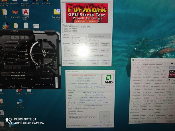 Продам RX 570 Aorus 8 gb.
