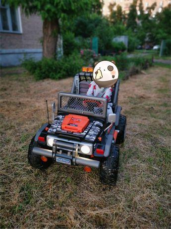 Детский автомобиль Peg Perego Gaucho Superpower 24v Kids Electric Ride