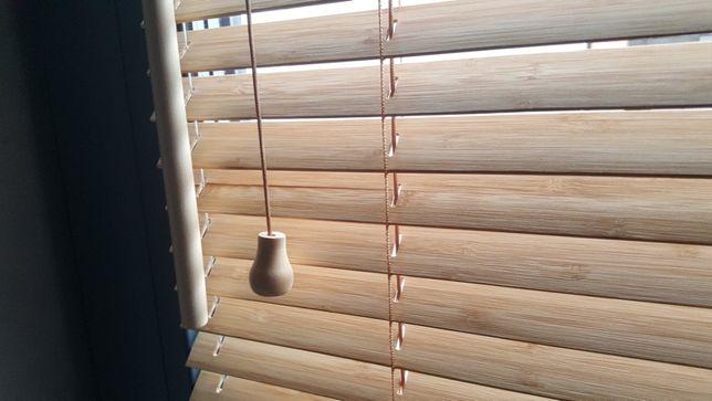 Żaluzja drewniana, darmowy pomiar i montaż