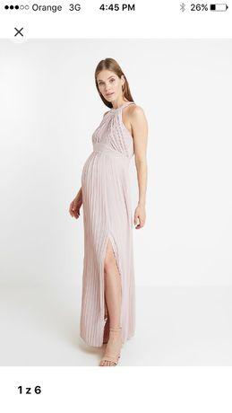 TFNC Maternity suknia balowa rozm. 38