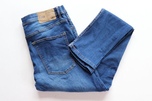 Spodnie męskie jeansy FSBN Skinny Fit W32 L32