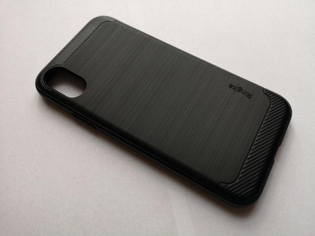 Etui, case iPhone X | Ringke Onyx Czarne