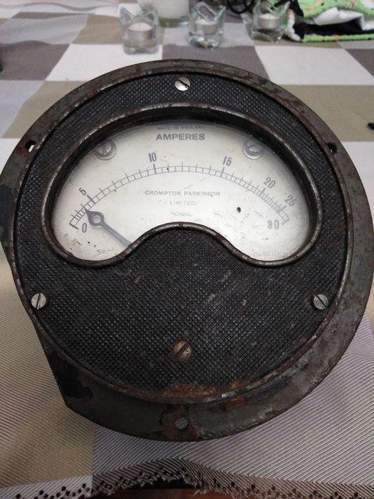 Zabytkowy  angielski amperomierz Grudziądz - image 1