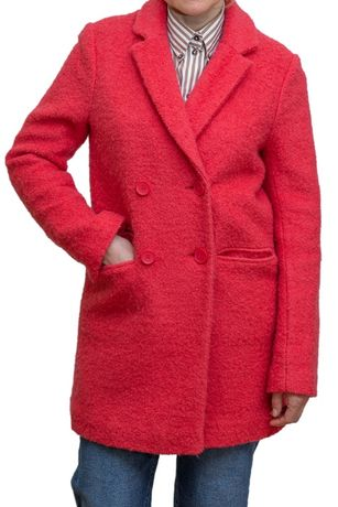 Пальто кораллового цвета NEXT