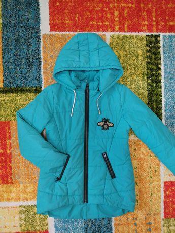 Куртка демисезонная, осенняя для девочки