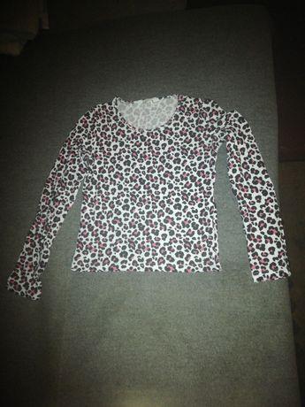 Bluzeczka w panterke h&m roz 152